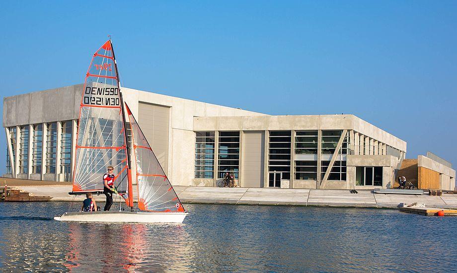 Nordea-fonden har tidligere støttet tilblivelsen af Aarhus Internationale Sejlsportscenter med 15 mio. kr. Foto: Peter Brøgger