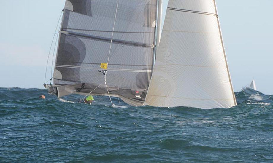 Det er ikke båden på billedet der skal gættes, men den i videon. Foto: Jens Thuesen