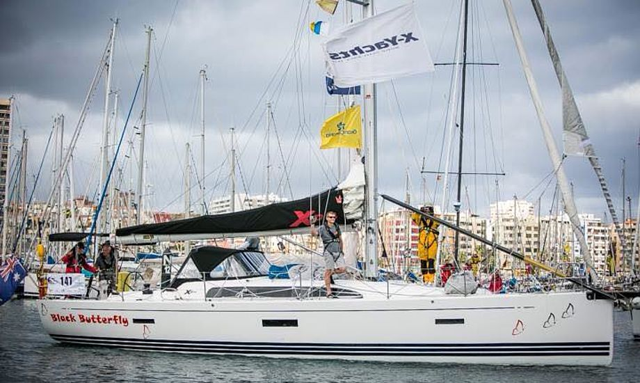 Omkring 200 både sejler med i ARC fra Gran Canaria til St. Lucia i Caribien. Foto: Christa Lykkebo Christensen