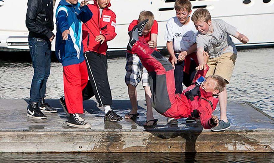 Søren Dalsgaard Rasmussen, Skovshoved Sejlklub i opti