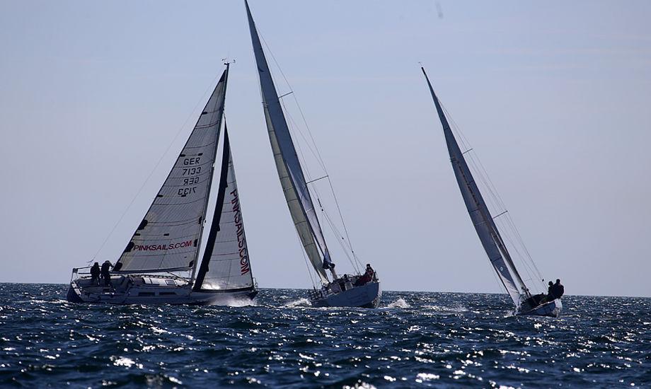 I Kerteminde sejles der bl.a. 2-handsejlads i Classic Fyn Rundt. Foto: Troels Lykke