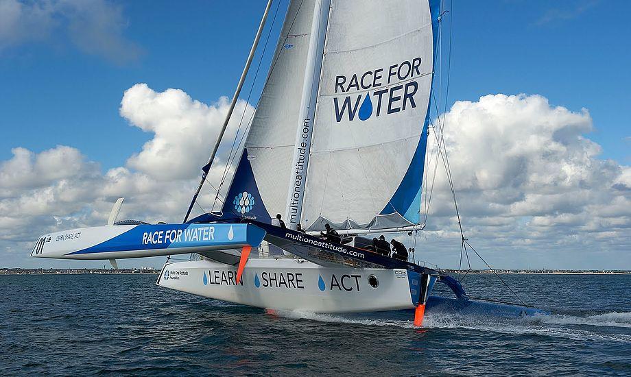 Race For Water som også kunne ses under Kieler ugen. Se video i bunden af artikel