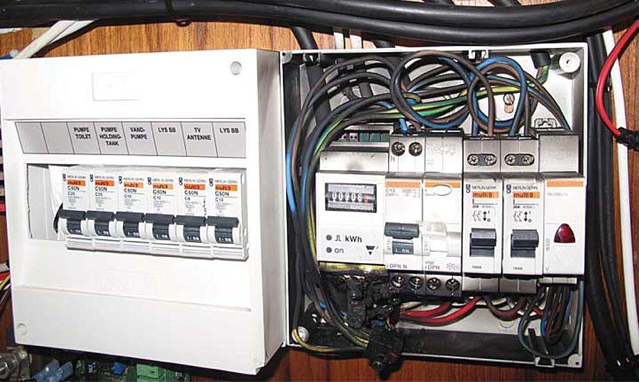 Her har været en del mere strøm på end de normale 220V. Foto: Claus Dalbøge