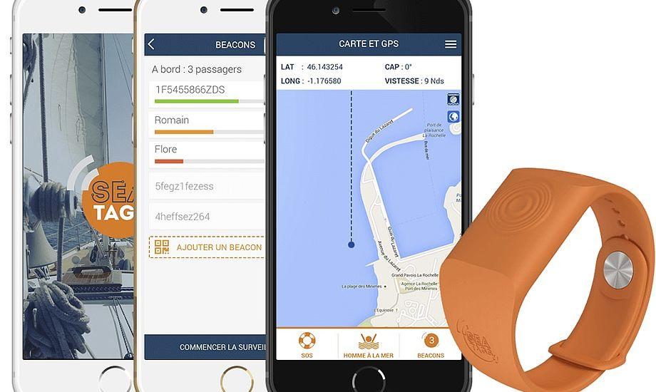 MOB-alarmen Sea-Tags er både enkel og yderst anvendelig i nødsituationer. Foto: Watski