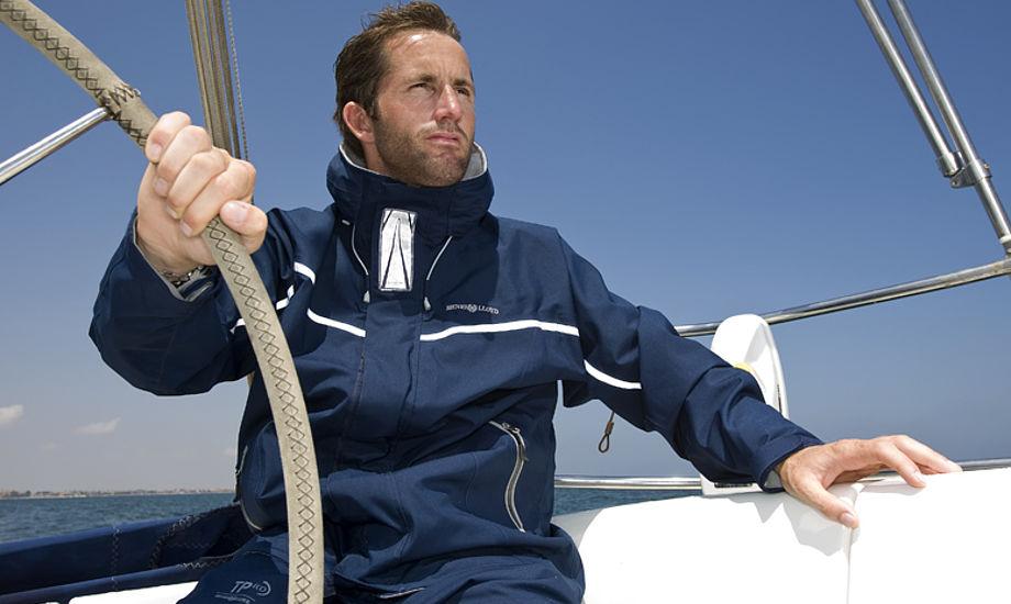 OL-guldvinderen Ben Ainslie i det prisbelønnede tøj fra Henri Lloyd.