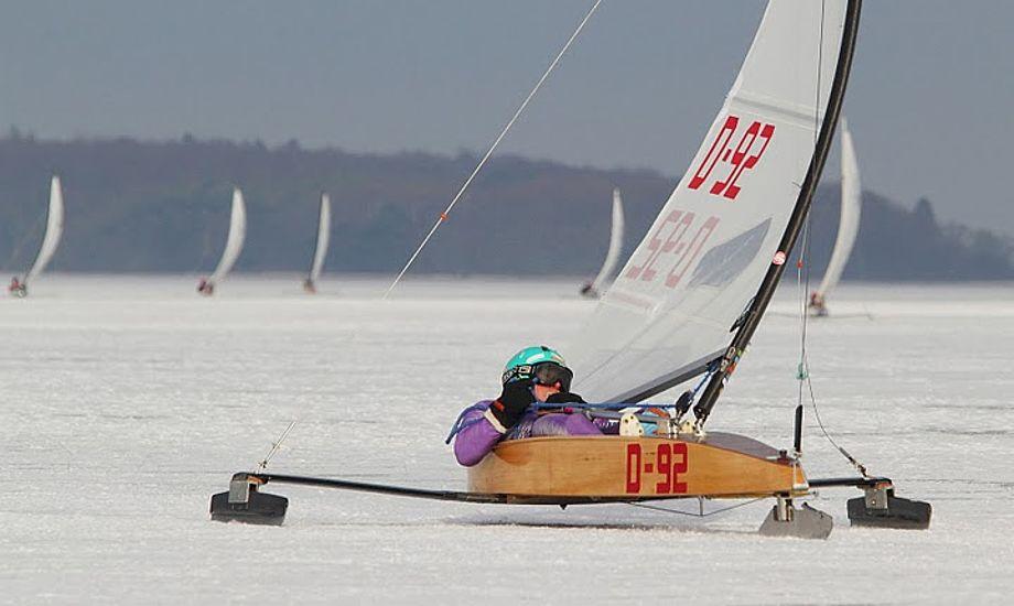 Hans Ebler i White Rapid vandt historisk VM-bronze for dansk sejlsport. Arkivfoto: Søren Svarre