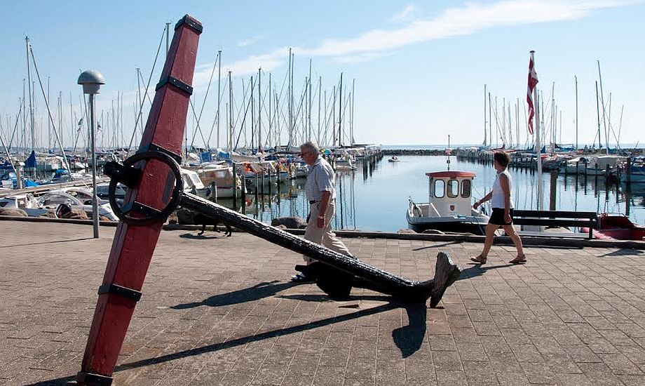 Fyn er fin. Fx i Kerteminde Marina. PR-foto