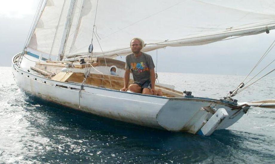 Thomas Tangvald blev sidst set d. 4 marts ved Fransk Guyana i båden Oasis. Foto: Thomas Tangvalds blog