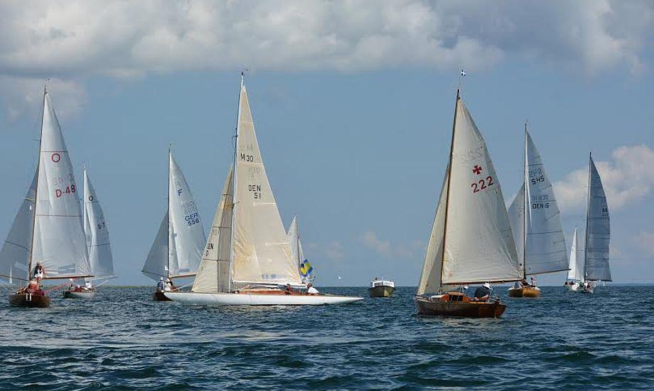 Svendborg Classic Regatta er også for de træbådsejere, der ikke sejler kapsejlads.