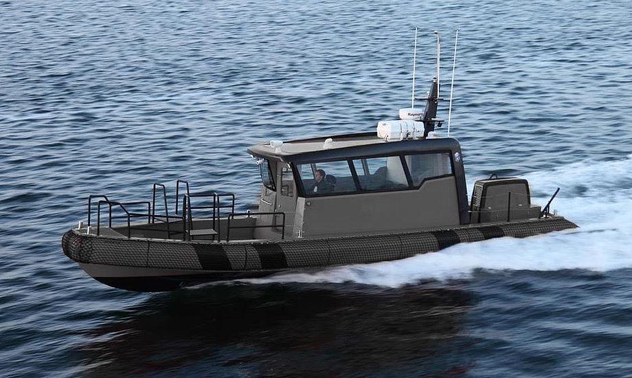 Styrehusets indretning på Tuco-båden er organiseret med henblik på at maksimere brugen af moderne mission management og elektronisk understøttelse af operationer i mørke.