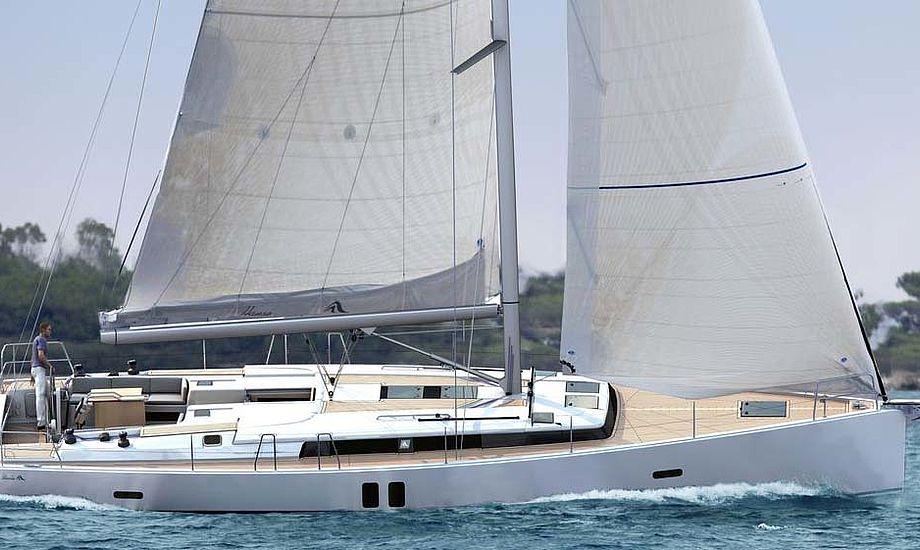 Hanse 495 kommer til at koste 1.949.900 kroner. Den bygges i Greifwald i den nordlige Østtyskland og sælges i Dragør.