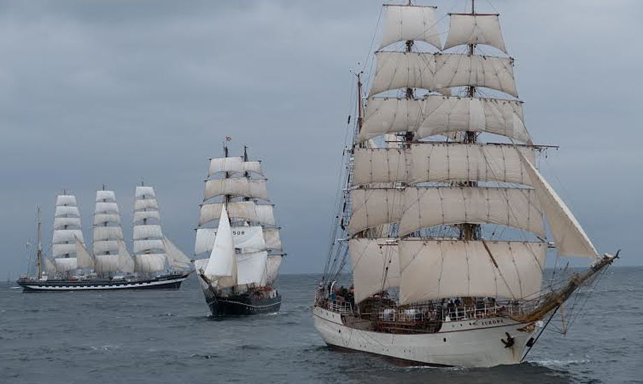 Sidste år lagde The Tall Ships Races vejen forbi Esbjerg. Foto: Søren Stidsholt Nielsen, Søsiden, Fyens Amts Avis