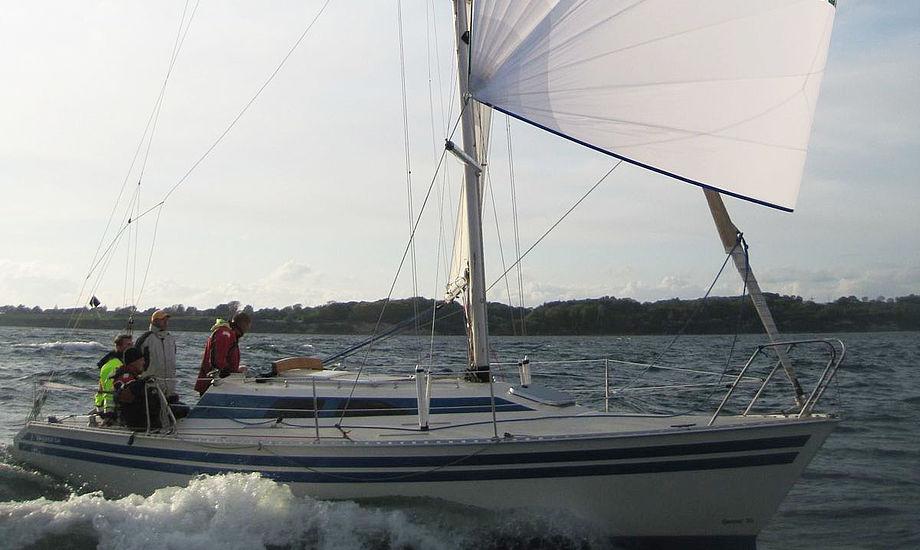 Banner 34´eren Spadilsen har sejlet Fyn Rundt de sidste 15 år