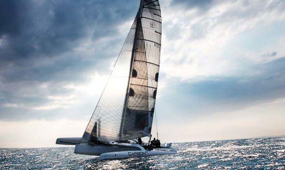 Carbon3 sejles i Watski2star af Eric Quourning og Søren Gitz. Foto: Carbon3