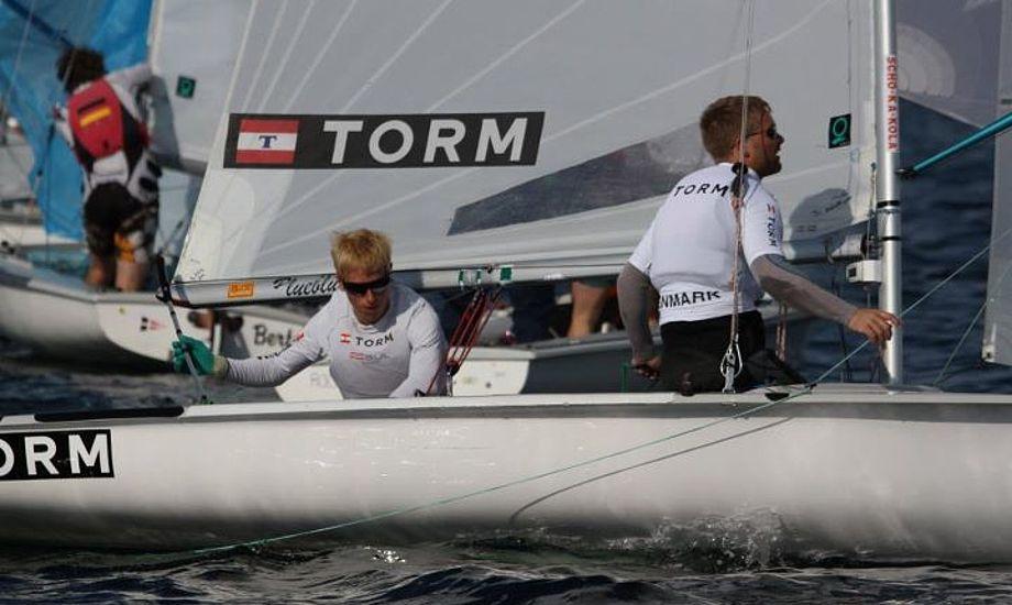Her Søgaard/Nørbo til de tyske mesterskaber. Foto Peter Kähl