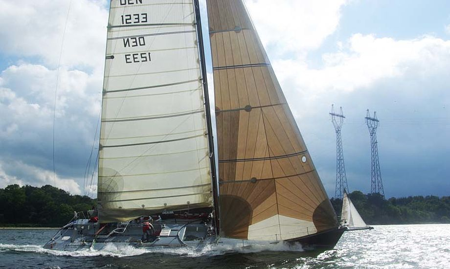 X-One i Lillebælt under Palby Fyn Cup for et par uger siden. Foto: Troels Lykke