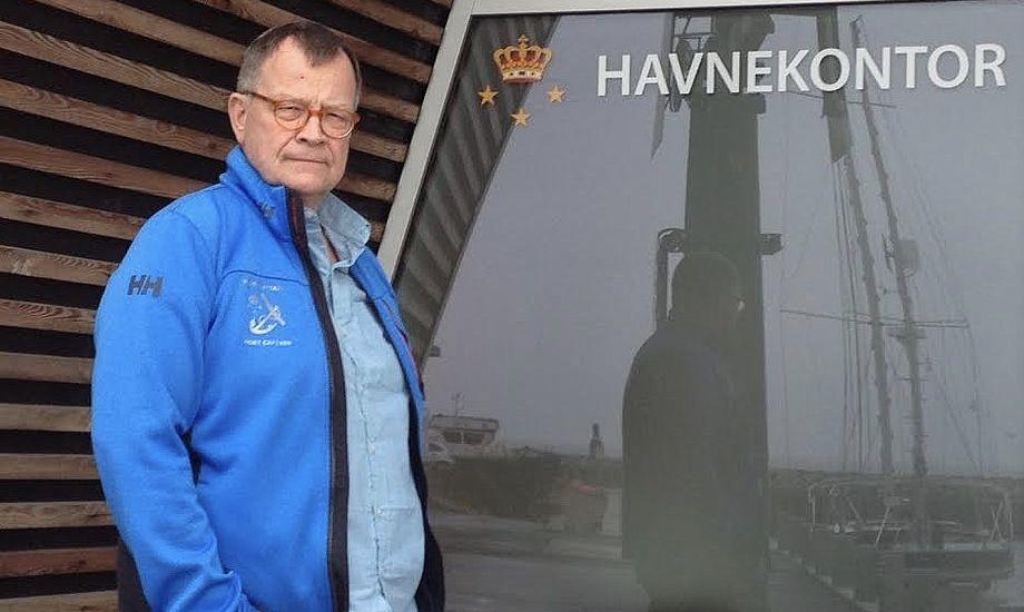 Knut Iversen tiltræder som havnefoged i Tuborg. Foto: PR-foto