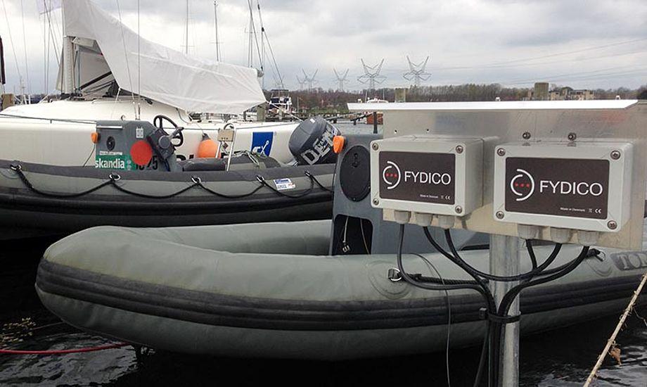 Her er alarmsystemet installeret i Middelfart. Foto: Fydico