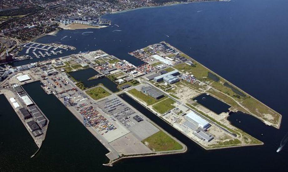 Nordhavnen bliver større og større. Foto: Ole Malling, By & Havn