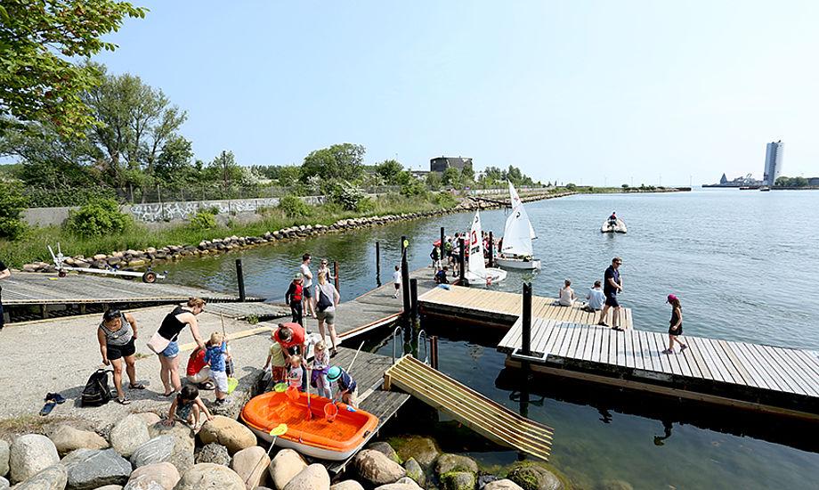Flere tusinde frivillige i 40 havne i Danmark lavede god PR for sejlsporten i projekt Vild med Havn. PR-foto
