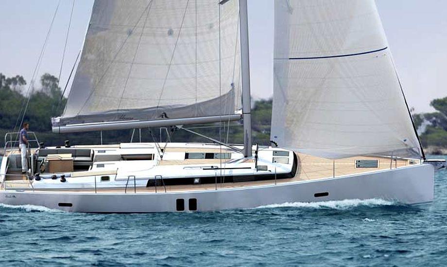 Hanse 495 kommer til at koste 1.949.900 kroner, og præsenteres på boot Düsseldorf.