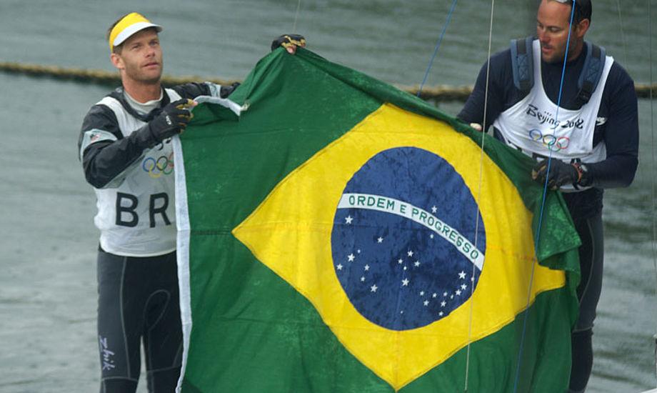OL i Qingdao med brasilansk starbådssejler
