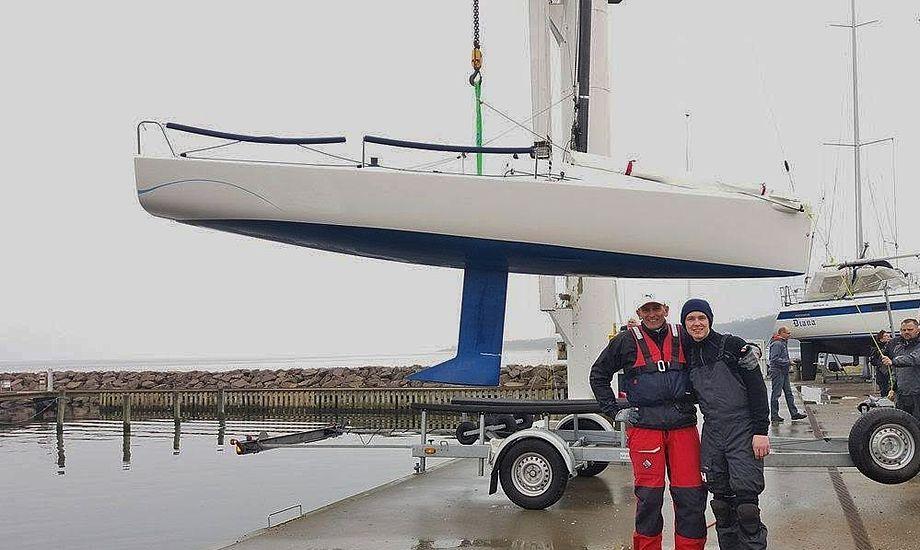 Vi er SÅ klar til at komme på vandet! Foto: Maria Kajgaard.
