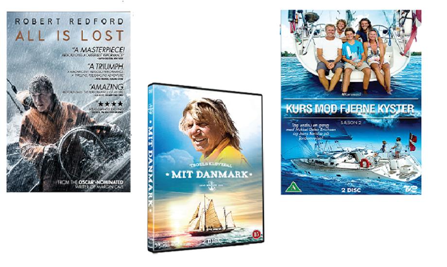 Disse tre DVD'er bringer sejladsen tilbage, mens båden er på land.