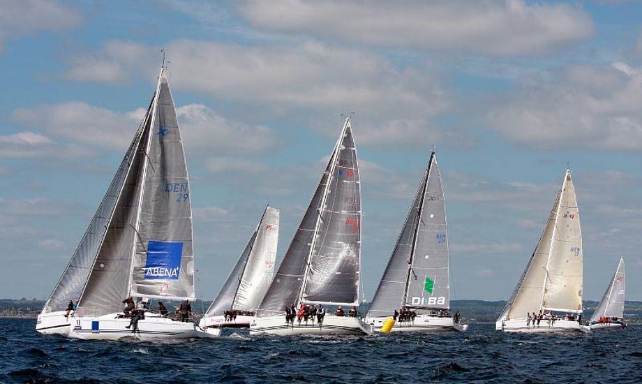 17 både deltog i Aarhus Big Boat 2013. Foto: Niels Kjeldsen