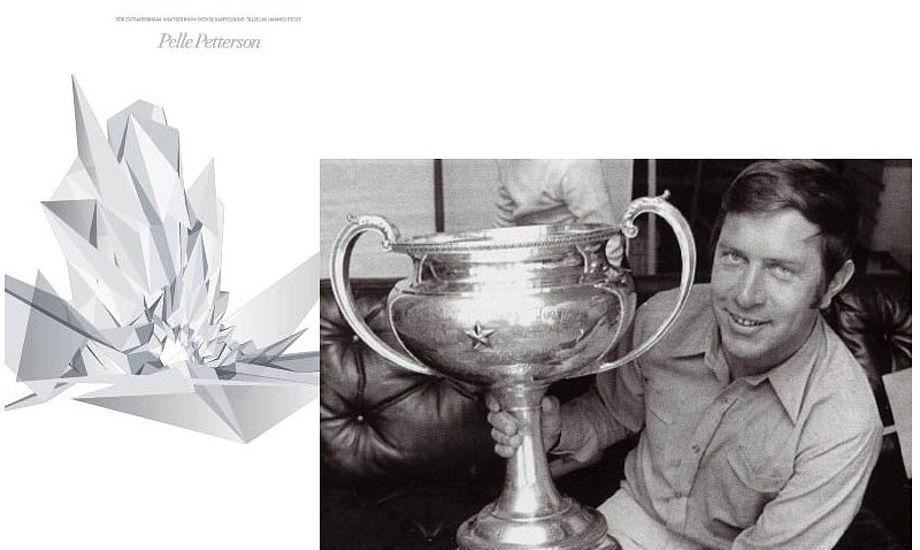 Foto: Pelle Petterson kalder sit VM-guld i Starbåd i 1969 kronen på sin sejlarkarriere. Foto: svensksegling.se