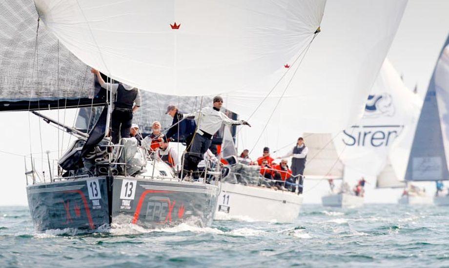 Fra Aarhus Big Boat Race 2012. Foto: Mick Anderson
