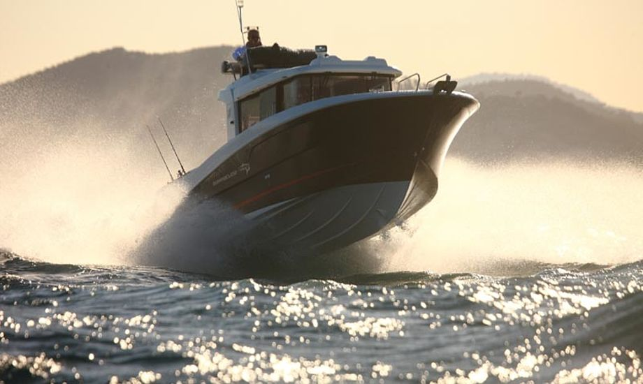 Beneteau Barracuda 9 fås i to versioner, med eller uden flybridge. Foto: Beneteau