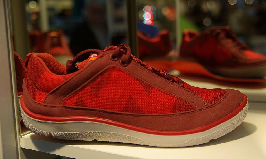 Camper-skoen fås også i andre farver. Foto: Troels Lykke