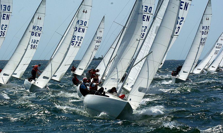 Claus Høj Jensen er dobbelt verdensmester i H-båden. Arkivfoto: Troels Lykke