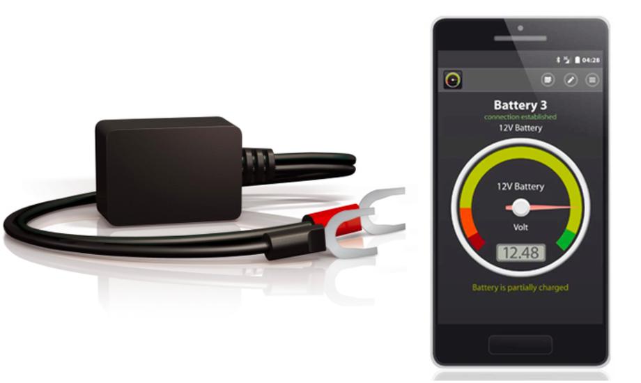 Batterivagten kan bruges til 6, 12 og 24 volt. Foto: Tempo Bådudstyr