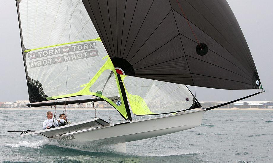 Krüger og Thorsell er flyvende i Kiel. Arkivfoto: Mick Anderson / Sailingpix