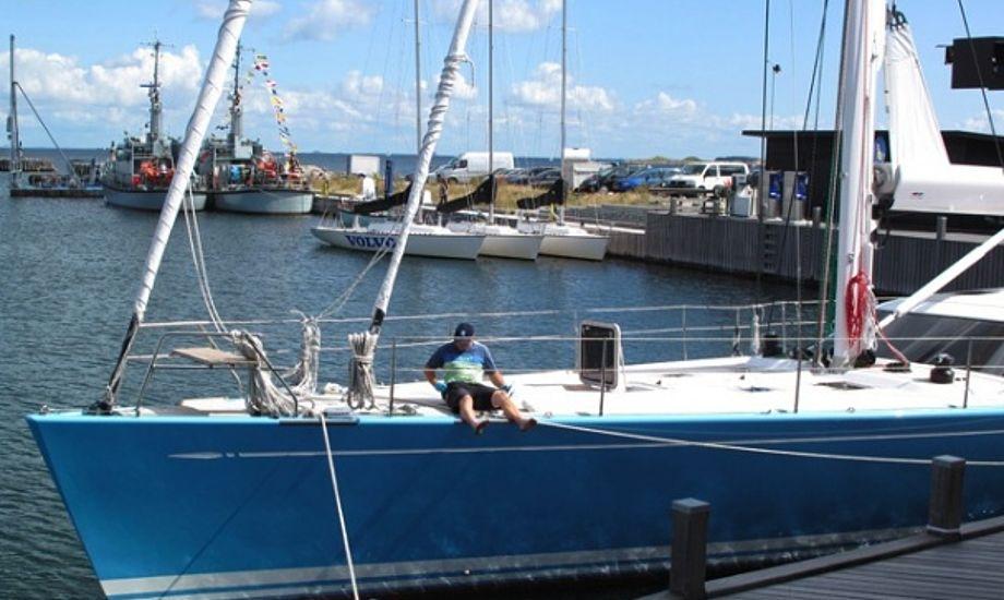 Swan 82 KLEM VIII i Tuborg Havn. Foto: Troels Lykke