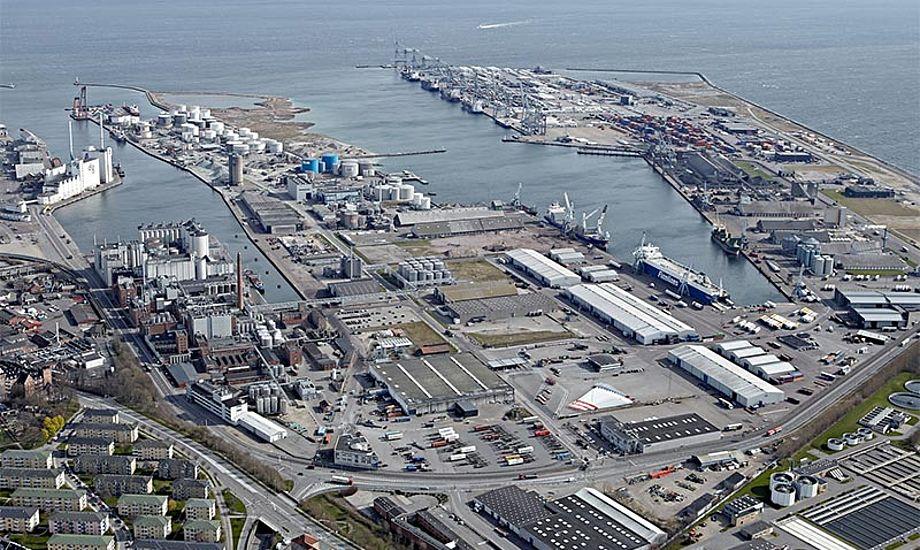 Havnebyggeriet i Aarhus forventes at stå færdigt i 2020. Foto: Aarhushavn.dk/Jørgen Weber