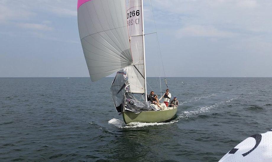 Den samlede vinder af Spækhugger Cup blev besætningen på DEN 266. Foto: Spækhugger Cup