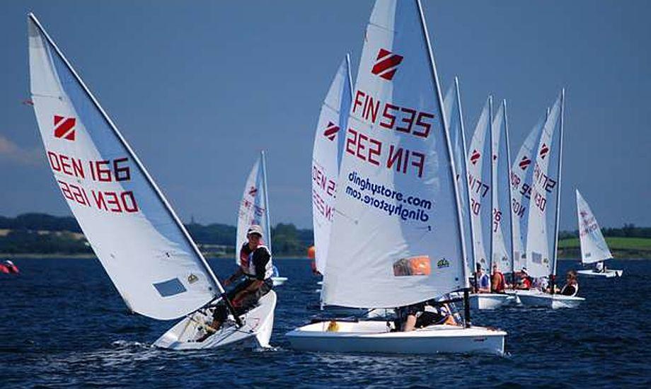 Både Anna Munch og Kasper Skiveren har leveret suveræne resultater i Zoom8-klassen. De sejler nu begge en anden jolle, så andre nu får chancen. Foto: zoom8.dk