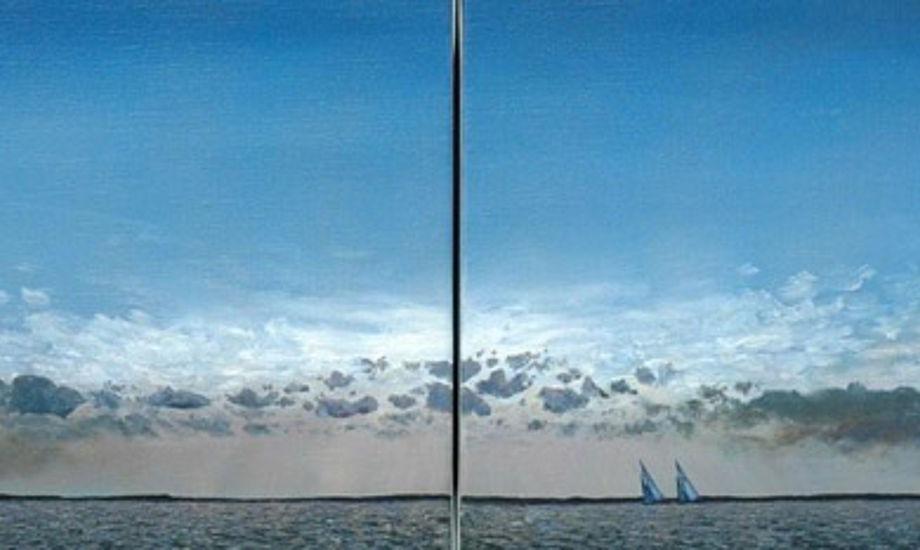 Malerier af Kent Zier.