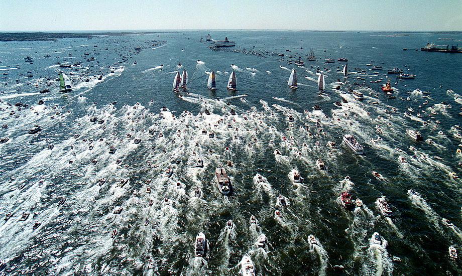 Der bliver mulighed for at følge den sidste In-Port Race i Göteborg. Foto: volvooceanrace.com