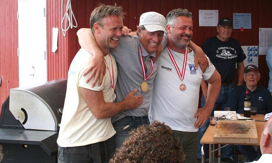 """Finnjolle DM-vinder Jørgen Svendsen vil gerne sejle """"Mestrenes Mester"""", men mener, at konceptet er forkert. Arkivfoto"""