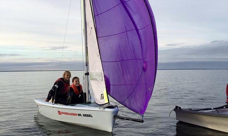 Flere ungdomssejlere er nu på vandet i Bork og Nyborg. Foto: Lise Bennetsen