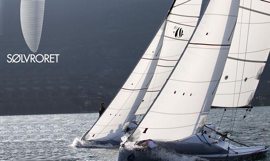 Per Cederberg deltager i SølvRoret i sin Seascape18. Arkivfoto: Jaka Ivanc