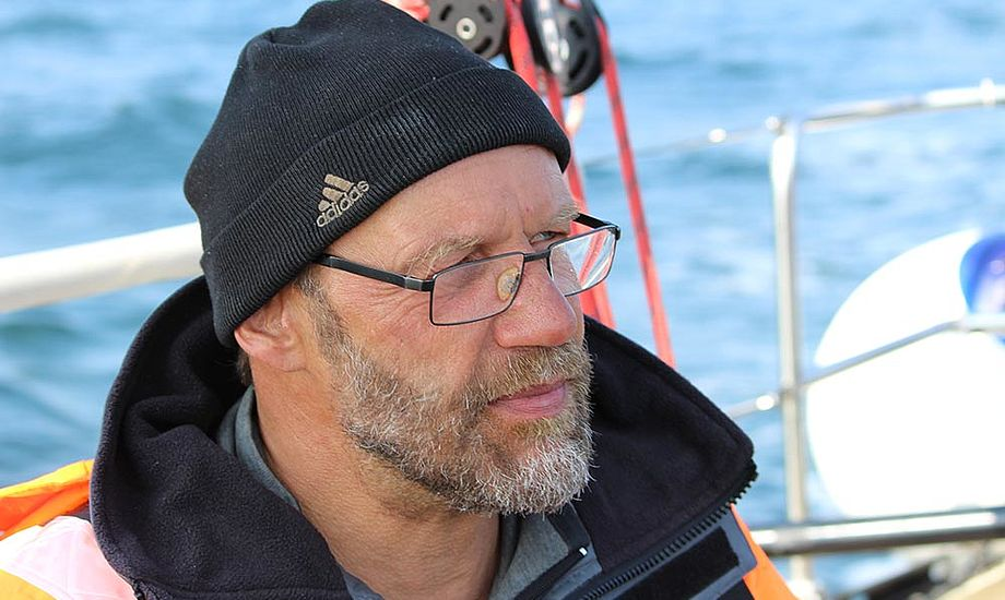 Erik Venøbo i Storebælt. Arkivfoto fra 2014. Foto: Katrine Bertelsen
