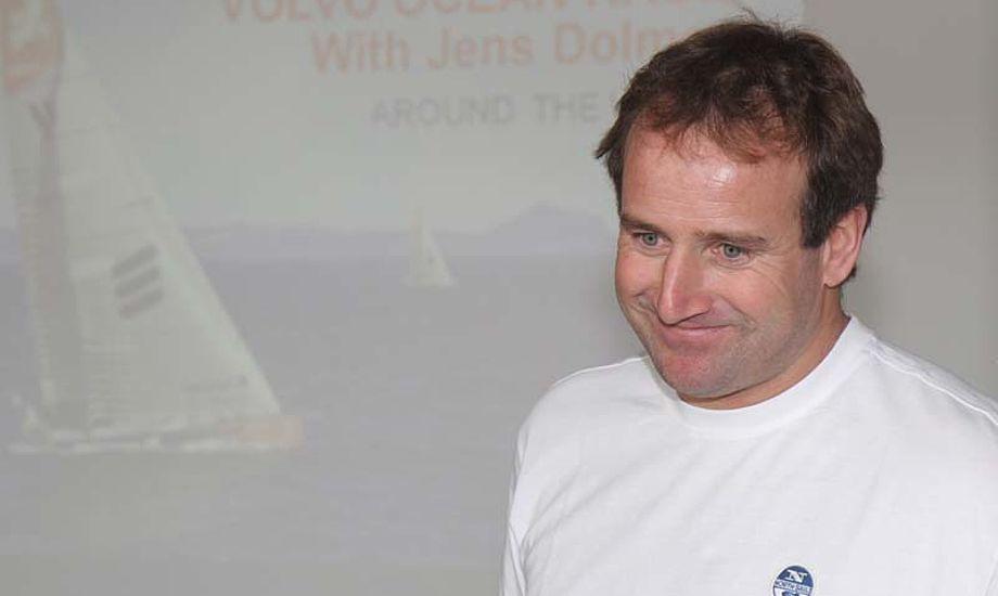 Jens Dolmer var bådkaptajn på Ericsson 4, der tog en 4. plads i Volvo Ocean Race i 2009. Foto: Troels Lykke