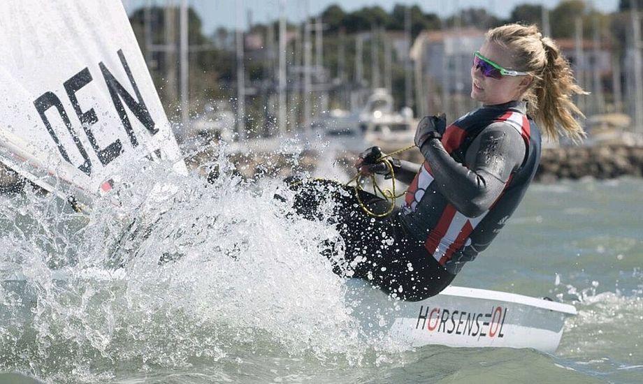 Anne-Marie Rindom skal sejle sit niende Princesa Sofia Cup. Foto: Anne-Marie Rindom til OL / Facebook