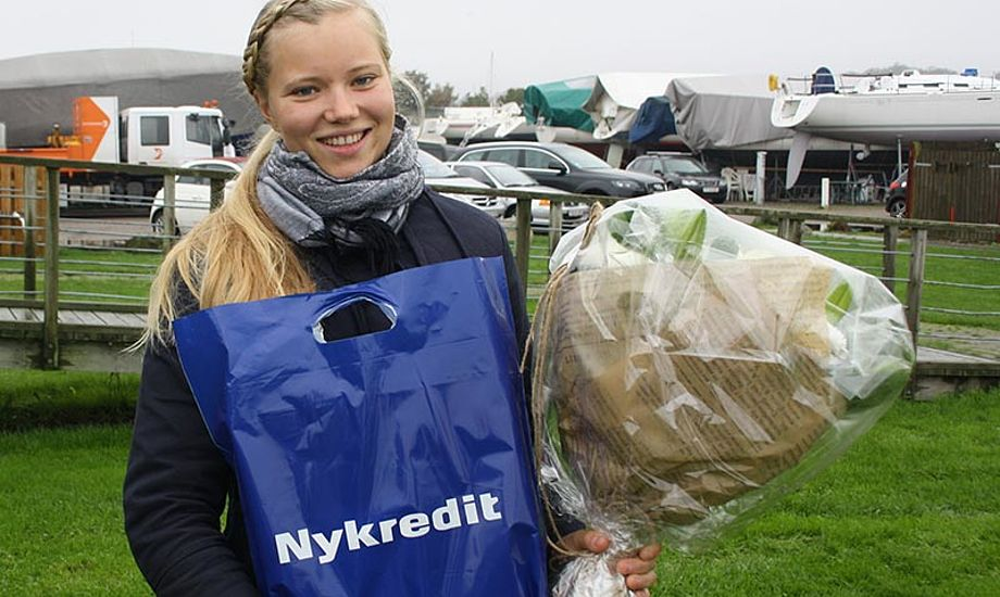 Anne Marie Rindom, blev Horsens Sejlklubs Nykredit Sailor of the year 2014.