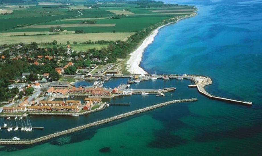 """Havnen er ideel at besøge ved ture til og fra Tyskland, Sverige og Bornholm eller som et naturligt stop på den """"store"""" tur rundt om Sjælland. Foto: FLID"""